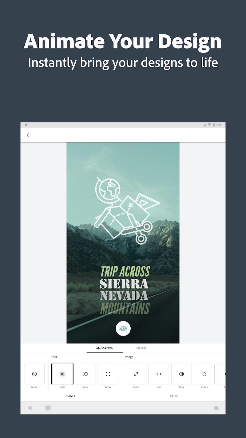 Adobe Spark Post: Graphic design made easy Screenshot 11