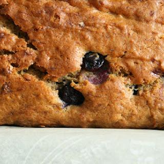 Earl Grey Blueberry Banana Bread