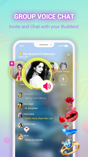 PiE - Free Voice Chat Rooms, Live FM Radio India 2.12.2 screenshots 2