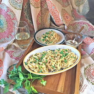 Pantry Linguine in Clam Sauce.