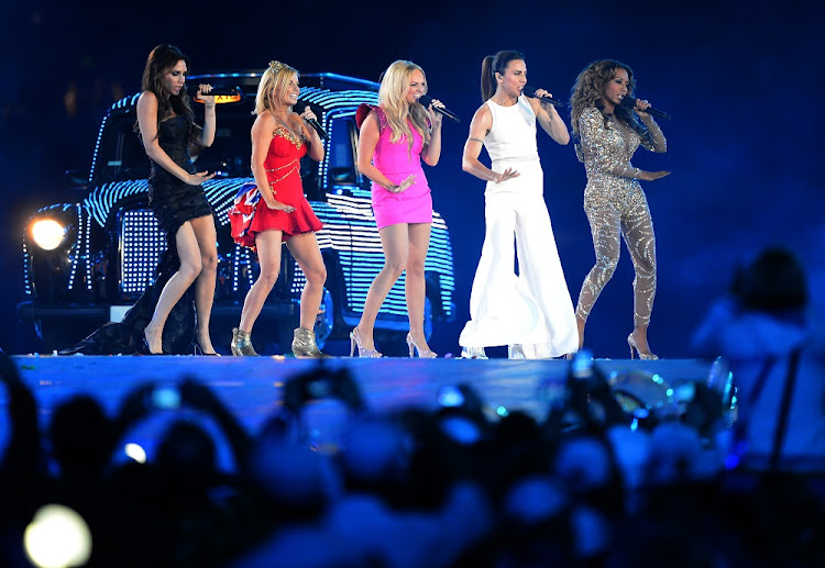 The Spice Girls pictured performing during the closing ceremony of the 2012 Summer Olympic Games in London. Image: JEWEL SAMAD