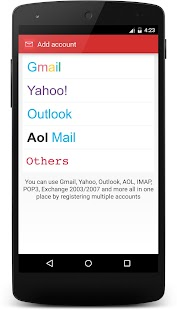 Mails - Yahoo, Outlook & more - náhled