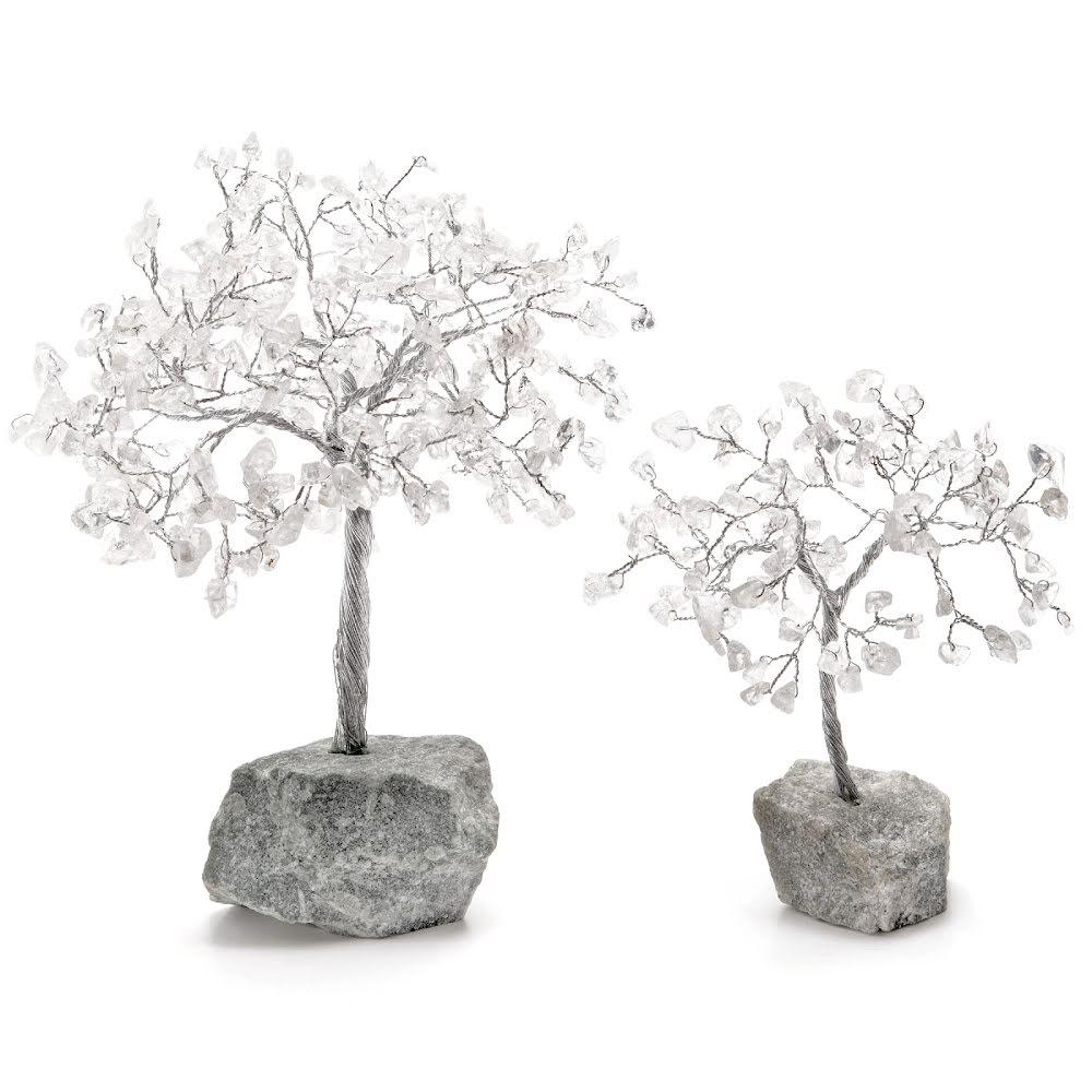 Bergkristall, Livets träd tre olika storlekar