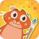 Hamster Bob - drawing for kids
