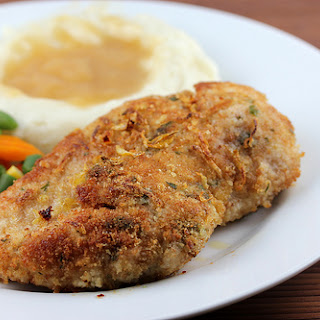 Crusted Lemon Chicken Breasts