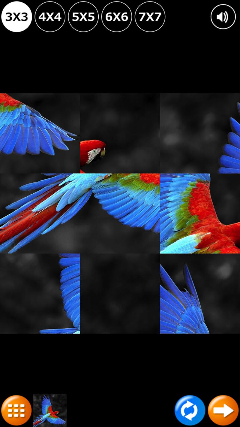 Скриншот Пазл HD: Птицы
