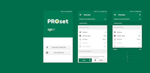 Zumtobel PROset App