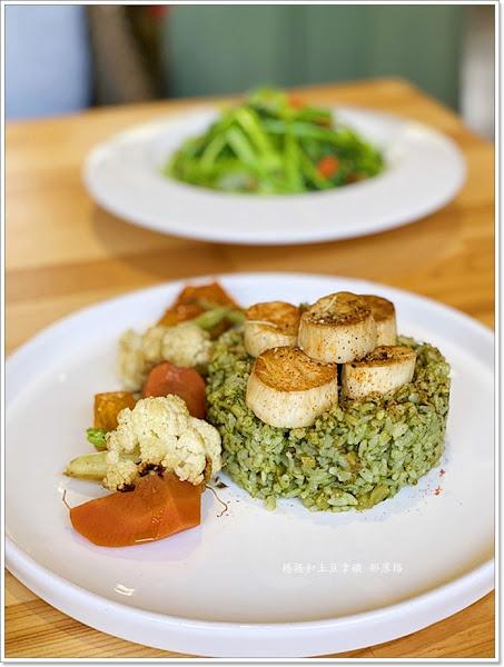 食不二。秘境蔬食餐廳 左創生活園區 海光俱樂部內