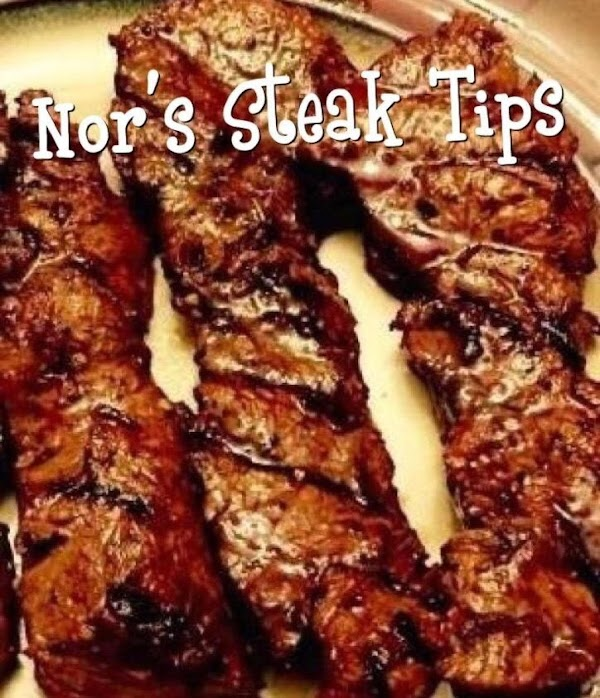 Grilled Steak Tips By Noreen Recipe