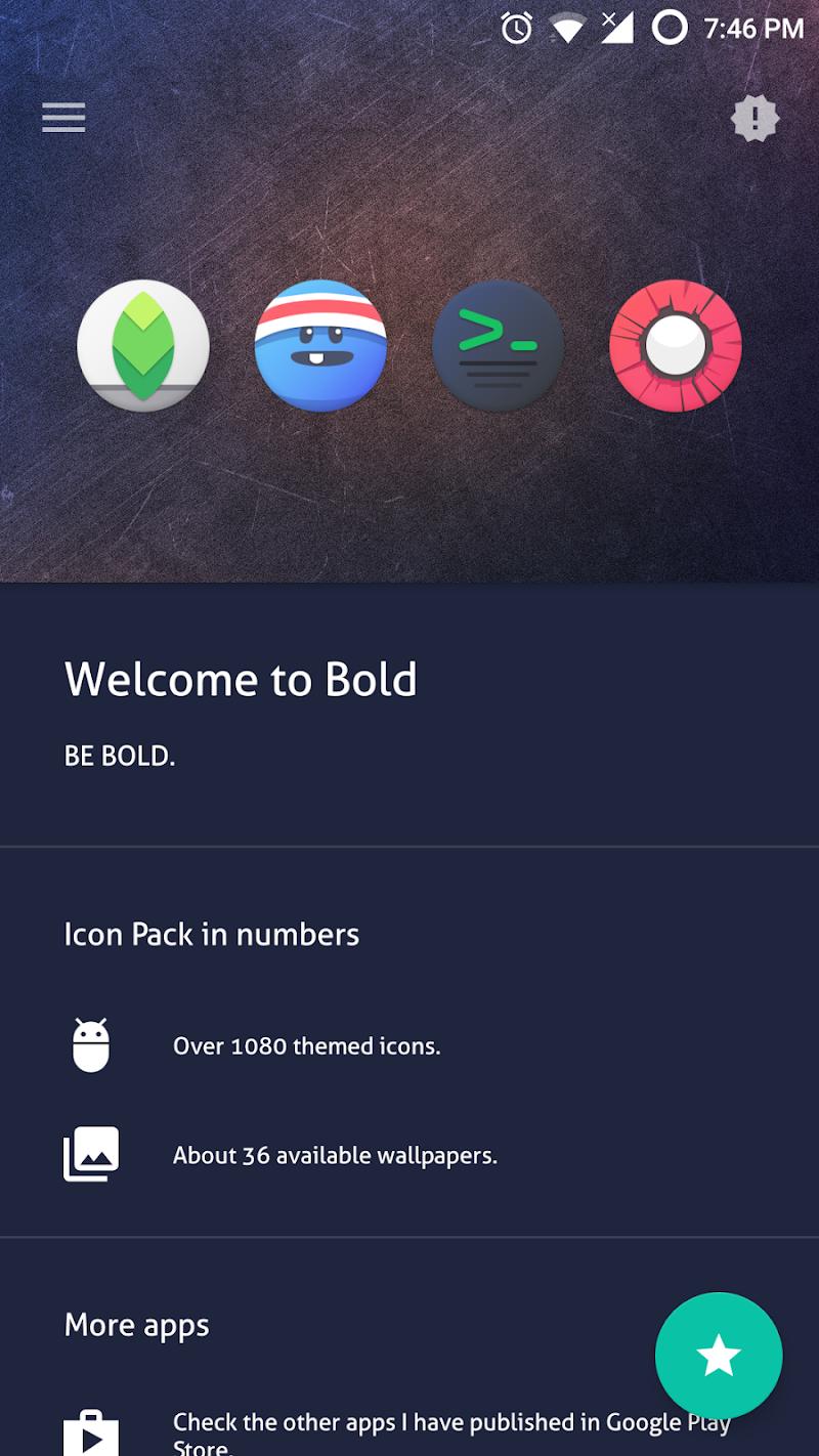 BOLD - ICON PACK (SALE!) Screenshot 2