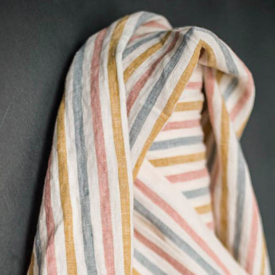 Suzy Stripe Linnetyg från Merchant & Mills