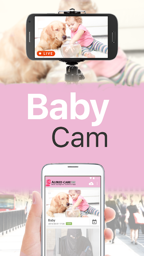 WiFi Baby Monitor - NannyCam- screenshot