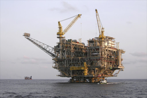 An offshore oil platform near Angola. Picture: THINKSTOCK
