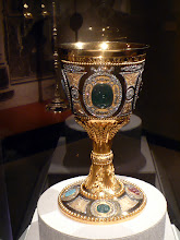 Photo: This Orthodox chalice features jewels and cameos from Catherine the Great.