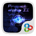 Project α GO Launcher Theme icon