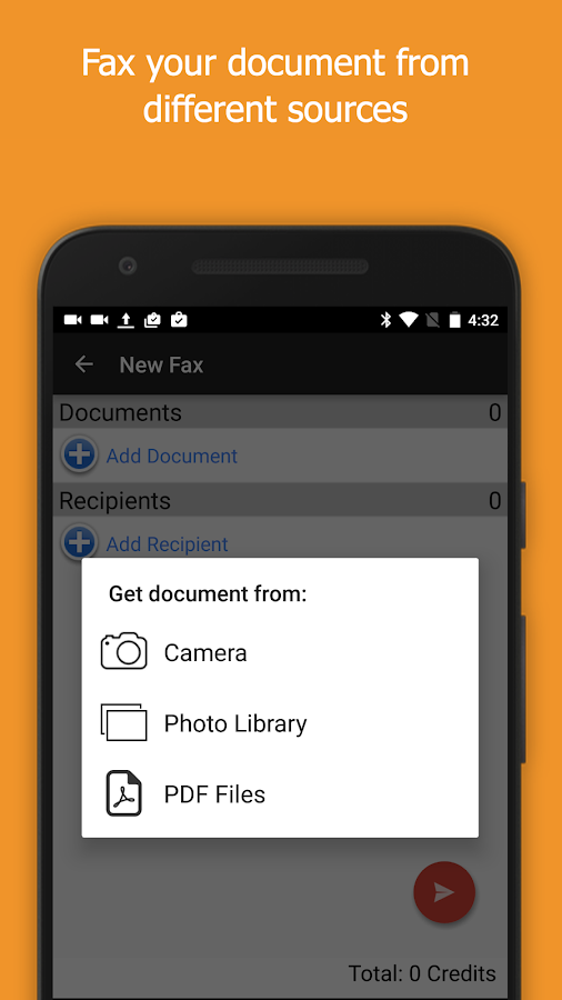 Snapfax Snap To Fax Pdf To Fax Android Apps On