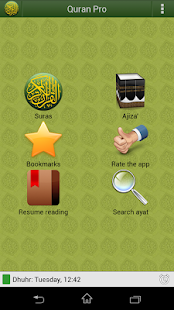 Quran PRO (English)- screenshot thumbnail