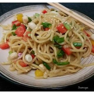 Crunchy Noodle Salad.