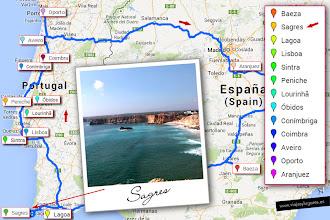 Photo: 3: Nuestro siguiente destino, Sagres, está a 577 km... disfrutando, el camino también forma parte del viaje.