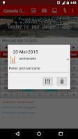 Screenshot of Canada Calendrier 2015