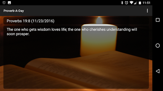 Proverb-A-Day Bible Proverbs.- screenshot thumbnail
