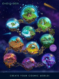 Evergreen – Space Gardens Idle Game Mod Apk (Unlimited Money) 6