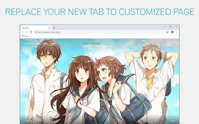 Hyouka Wallpaper HD Hyouka Anime New Tab