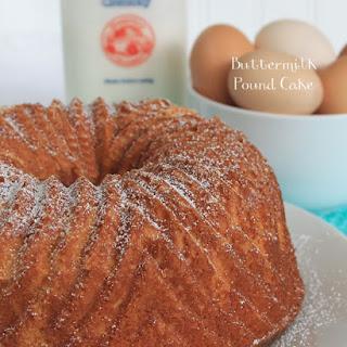 Buttermilk Pound Cake.