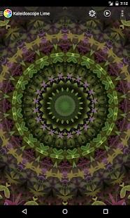 Kaleidoscope Lime - náhled