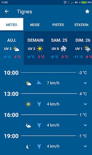 Mu00e9tu00e9o-France Ski et Neige 3.0.5 screenshots 3