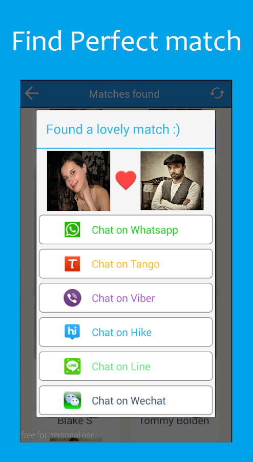 Dating chat line free