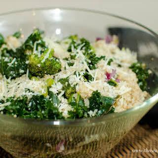 Kale & Broccoli Quinoa Salad.