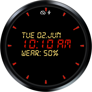 Koko Digital Watch Face