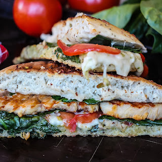 Pesto Chicken Panini.