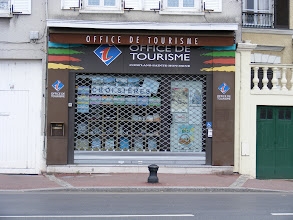 Photo: But it is Monday morning, and so often the quietest morning in many towns and villages - as reflected in the state of the tourist office here.
