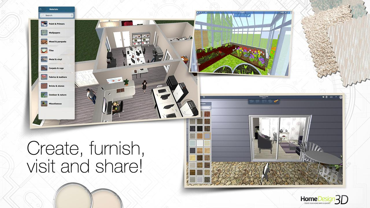 home design 3d screenshot - Home Designs Games
