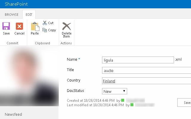 Form Filler for SharePoint