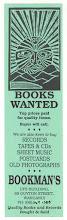 Photo: Bookman's