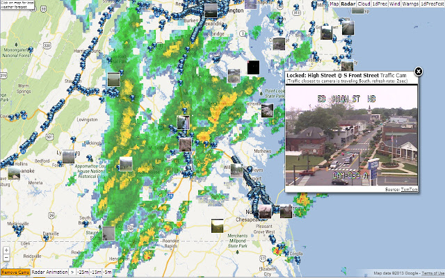 US Weather Radar Chrome Web Store - Weather radar of the us