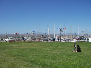 Photo: Ventura Harbor, 9 minutes from our house.