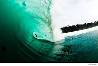 Photo: Mikala Jones, Indonesia. Photo: Noyle/SPL #surferphotos