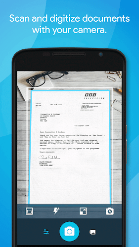 Quick PDF Scanner + OCR FREE Android App Screenshot