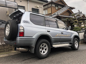 ランドクルーザープラド KZJ95W TX 5MT 1997年式ののカスタム事例画像 shin-kaさんの2018年12月13日14:03の投稿