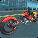 Police Sci Fi Bike Rider 3D icon
