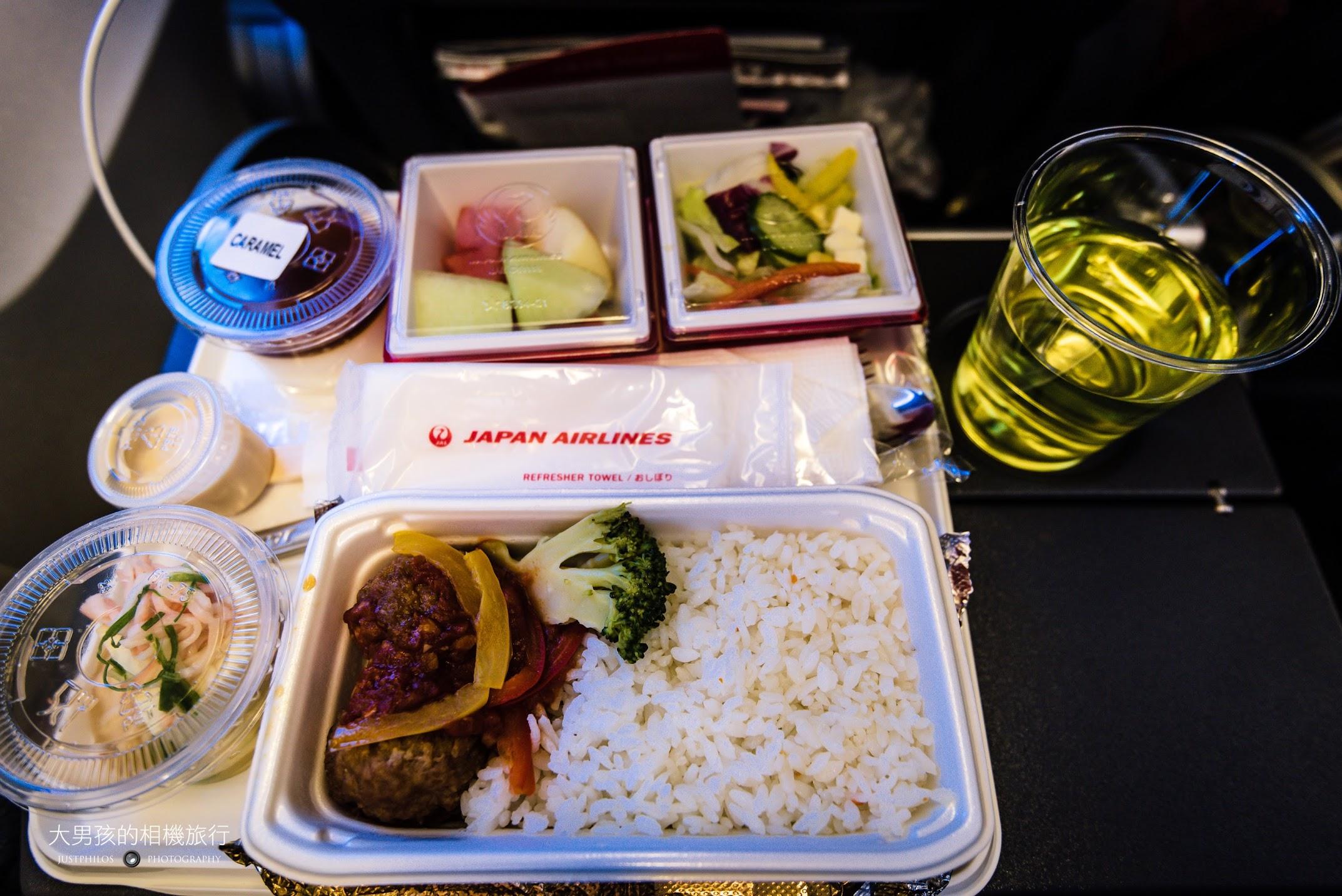 去程的空餐味道雖然不差,但和幾年前的日航空餐相比還是遜色不少。