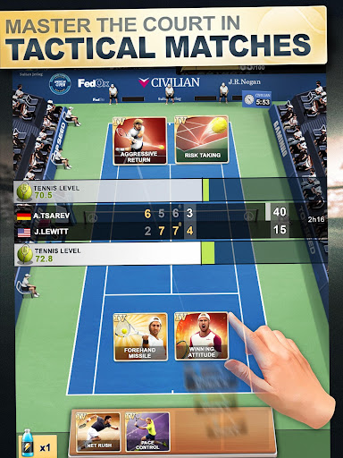 TOP SEED Tennis: Sports Management & Strategy Game 2.34.7 screenshots 11