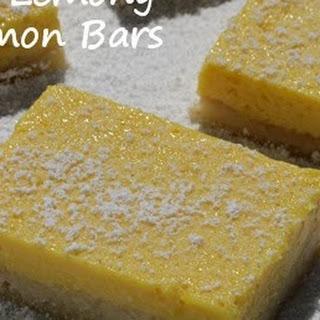 Really Lemony Lemon Bars (Aka Pucker Up Lemon Bars) Recipe