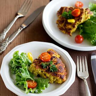 Maman'S Chicken Frittata -Kookooye Morgh Recipe