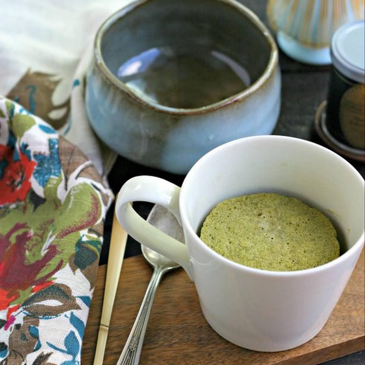 Low Carb Mug Cake With Matcha