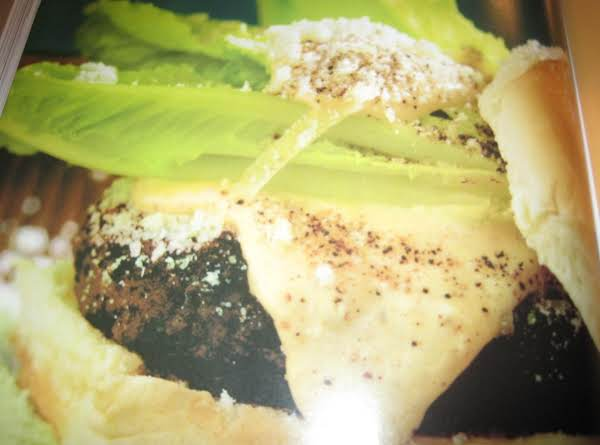 Caesar Salad Burgers By Rose Recipe